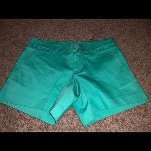 "Tracy Negoshian ""Penny"" Shorts Seafoam Size 2 NWT"